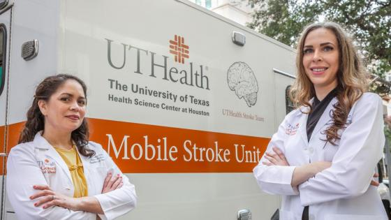 Mobile stroke units get patients to hospital faster than